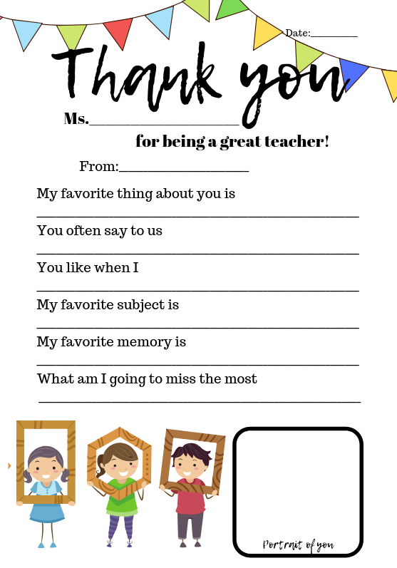 photograph regarding Thank You for Being a Great Teacher Printable identified as Thank on your own, instructors. Expanding My Knight